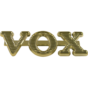 Logo - Vox, Gold, Large
