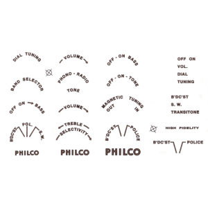 Decal - Philco