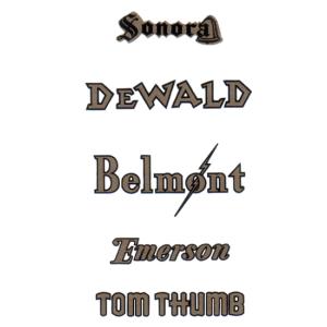 Decal - Emerson/ Dewald / Sonora