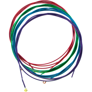 Acoustic Guitar Strings - Arkay, Colored