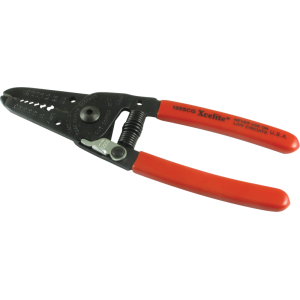 "Wire Stripper/Cutter - Xcelite, 6"", with Spring and Lock"