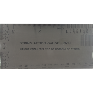 String Action Gauge - Inch Version