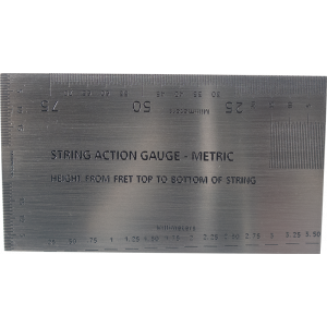 String Action Gauge - Metric Version