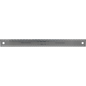 String Spacing Ruler - Steel