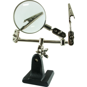 Tool - Helping Hand with Magnifier, 65mm, 2.5X