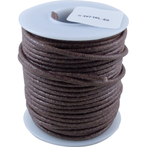 Wire - Hook-Up, Lacquered, 50' Spool, Brown