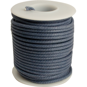 Wire - 20 AWG, Solid Core, Lacquered Cloth Cover, Blue, 600V
