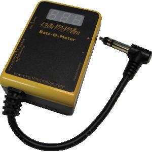 Battery Tester - Keith McMillen Instruments' Batt-O-Meter