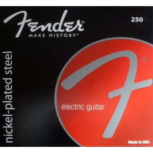 Guitar strings, Fender® nickel-plated steel, ball end, .009-.042