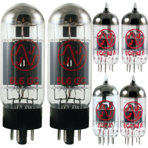 Tube Complement for Fender Bassman Top 70-watt