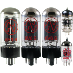 Tube Complement for Fender Deluxe 5D3