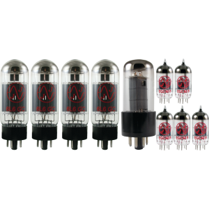 Tube Complement for Fender Fender Dual Professional