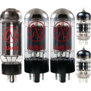 Tube Complement for Fender Super 2x10 V front