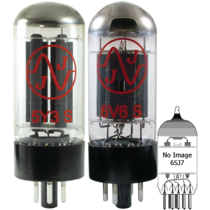 Tube Complement for Gibson Les Paul TV