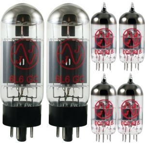 Tube Complement for Mesa/Boogie MK-IIB 300 Cascode 60