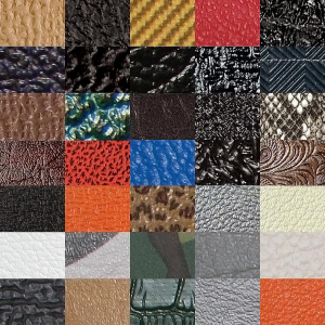 Tolex, Samples of all Tolex/Cabinet Covering