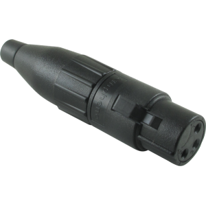 XLR Plug - Amphenol, Female, 3-Pole, Thermoplastic