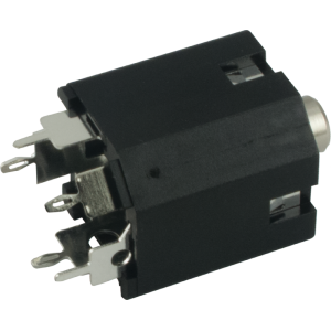 Jack - Amphenol, 3.5mm, Stereo, Switched, PC Mount