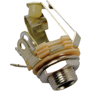 "Jack - Switchcraft, 1/4"", Mono, 2-Conductor, Double Open Circuit"