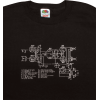Shirt - Black with Schematic image 1