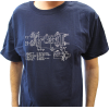 Shirt - Blue with Schematic image 2