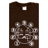 Shirt - Brown with Tube Pin-out image 1