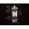 Shirt - Black with 12AX7 Diagram image 1
