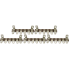 Terminal Strip - 6 Lug, 1st & 6th Lug Common, Horizontal image 2