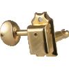 Tuner - Gotoh, Vintage Oval Knob, 3-per-side image 2