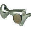 Tuner - Gotoh, Midsize 510, Metal Knobs, 3 per side image 1