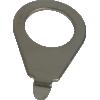 Knob pointer - Kluson, 90 degree blunt tip image 1
