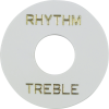 Switchwashers - Rhythm/Treble, Gold Lettering, for Les Paul image 3