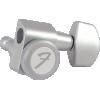 Tuner/Machine Head - Fender, Locking Tuners, Satin Chrome image 1
