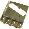 Bridge - Fender®, 3-Saddle, for Vintage Telecaster image 2