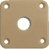 Jack Plate - Fits Les Paul, Plastic image 2