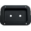 "Jack Plate - 2-Hole, Metal, 3.5"" x 5.13"" image 1"