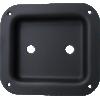 "Jack Plate - 2-Hole, Metal, 4.02"" x 4.41"" image 2"