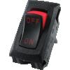 Switch - Carling, Mini Rocker, SPST, 16A, 125VAC, On-Off image 1