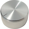 "Knob - Aluminum, Push-On, Notched Tip Indicator, 1.25"" Diameter image 1"