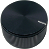 "Knob - Aluminum, Push-On, Notched Tip Indicator, 1.25"" Diameter image 2"