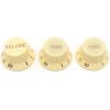 Knobs - Fender®, Stratocaster, 1 Volume, 2 Tone image 3