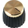 Knob - Push-On, Marshall Style, black image 2