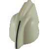 Knob - Chicken Head, mini, high-quality, brass insert, Set Screw image 2