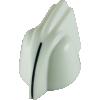 Knob - Chicken Head, mini, high-quality, brass insert, Set Screw image 8