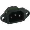 Receptacle - for power cord image 1