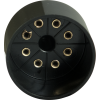 Tube Base - 8 Pin, Octal, Black image 2