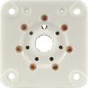 Socket - 7 Pin, Large, Ceramic Plate for 6C33C image 2