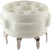 Socket - 8 Pin Octal, Ceramic PC Mount image 1