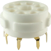 Socket - 8 Pin Octal, Ceramic PC Mount image 4