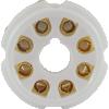Socket - 8 Pin Octal, Ceramic PC Mount image 5